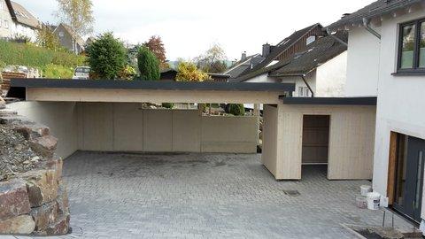 carport garage holzbauhoffmann. Black Bedroom Furniture Sets. Home Design Ideas